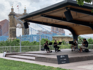 Smale Park Schmidlapp Stage and Event Lawn