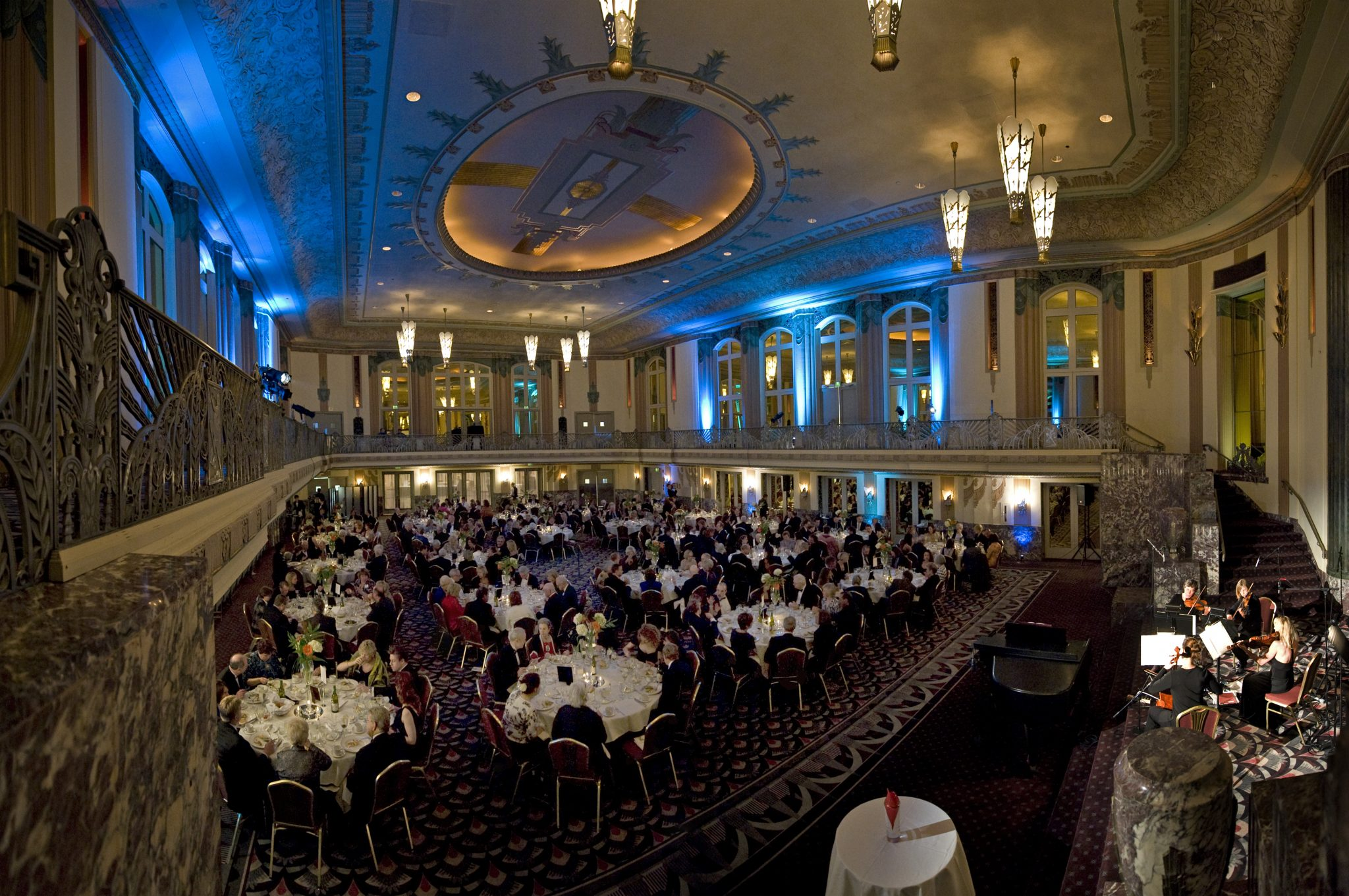 Hilton Cincinnati Netherland Plaza Hall of Mirrors